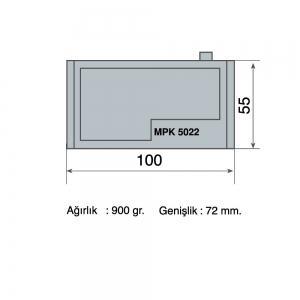 Hızlı Bağlama Sistemi MPK 5022